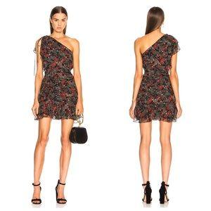 Veronica Beard Ballard 100% Silk Chiffon Dress